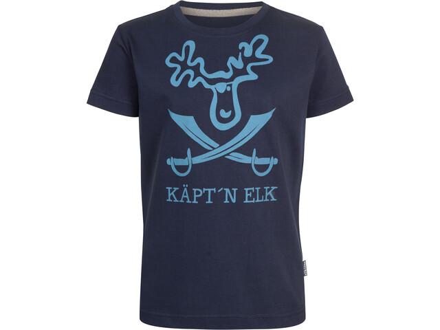 Elkline Schatzinsel T-Shirt Kinder blueshadow